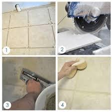 Bondera Tile Mat Canada by Bathroom Progress Patched Tile Floor Centsational Style