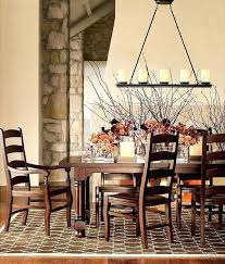 Showy Rustic Dining Room Lighting Chandeliers Table