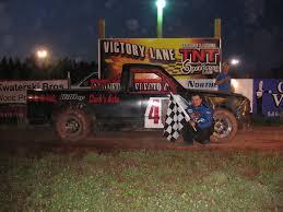 100 Three Lakes Truck TNT Feature Winner Jeff McDonald