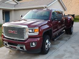 2015 3500 Denali Dually At 4000 Miles Pros And Cons: - Chevy And GMC ...