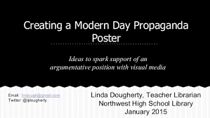 Creating A Modern Day Propaganda Poster Ideas To Spark Support Of An Argumentative Position With Visual