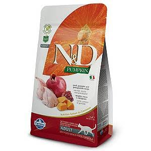 N & D Adult Cat Food - Quail, Pumpkin and Pomegranate, 1.5kg