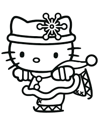 Amazing Hello Kitty Color By Number Kids Coloring Pages Free Printable Merry Sheets