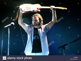Ed Vedder Pearl Jam performing at Madison Square Garden New