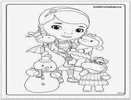 Doc McStuffins Coloring Pages Printable New Mcstuffins