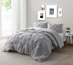Find XL King Size Bed forters Alloy Gray Bedding in King XL