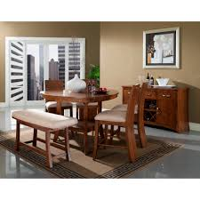 Conns Living Room Furniture Sets west ave dining counter height table 2 bar stools u0026 bench