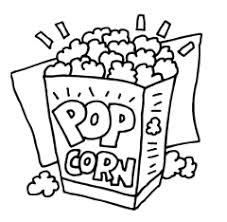 Microwave Popcorn Clipart
