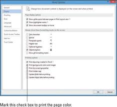 How To Apply Page Backgrounds In Word 2013