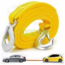 100 Tow Ropes For Trucks 4M 5Ton Car Vehicle Boat Strap Ing Rope With Hooks 11street