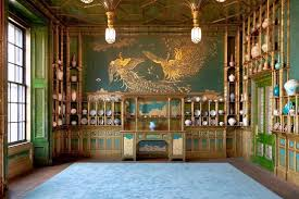 STRUTTED STUFF Whistlers Peacock Room Once A London Dining Is Now At