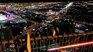 Stratosphere Observation Deck Hours by Las Vegas Thrill Ride On Top Of Stratosphere Tower At Night Youtube