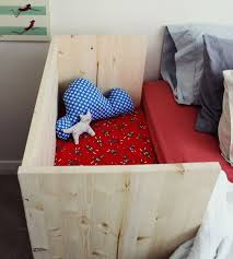 Side Crib Attached To Bed by Make A Sidecar Cosleeper In 2 Hours With Standard Lumber