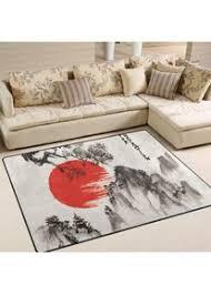 wohnzimmer teppiche japanische möbel teppich weich