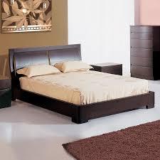 Shop Beverly Hills Furniture Maya Espresso Queen Platform Bed at