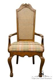 Details About AMERICAN OF MARTINSVILLE European Old World Style Cane Back  Dining Arm Chair ... Ding Room Chairs Stanley Fniture Spade Arm Chair Brown Ej Victor Imperia 920127 Von Hemert Sets Barker Stonehouse European Bellagio Luxury Set Of 2 Bow515 Upholstered Art Rattan Sofa Rattan Outdoor Europeanstyle High Back Solid Wood Classic Armchairdingrestaurant Chairch824 Buy Armchairwooden Restaurant Chairshigh Parisian Bronze Comfort Night