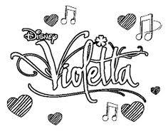 Resultat De Recherche Dimages Pour Violetta Dessin ColoringFree Kids Coloring PagesFai