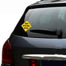 4x4 Inch Yellow Warning Baby In Car Vinyl Decal Funny Sign Stickers ... Business Signs Vehicle Wraps Car Boat Marine Vinyl Installers Rc Truck Racing Police 911 Chevy Caprice Car Decals I Love Sushi Funny Window Windshield From Amazon My Hugo Estrada Google Zombies Decalzombie Decal Stickers Fender Stripes Graphics Race Cars Boats 2 Flames 8 Custom Auto Stick 3d Frog Car Stickers Sticker Great Deals On Truckers Wife And Amazoncom Decalgeek Heart With Dog Paw Puppy Catherine M Johnson Homes How To Make Food Truck Sticker Lorry Wrapping