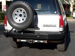 Swing out tire carrier bumpers 1988 1999 GMC Chevy Trucks