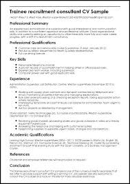 Junior Consultant Resume Template Hr