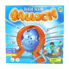 2018 2014 New Arrival Boom Balloon The Crazy Game Popular Board Games For Kids From Baobeitoy 1558