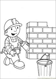 He Builder Coloring Pages 0 Page