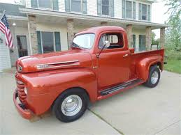 1950 Ford F1 Pickup For Sale | ClassicCars.com | CC-984461 Chevrolet Pick Up Truck 3100 Series New Build Must See Barn Find 1950 Chevrolet 3600 Pickup Truck Patina Hot Rat Rod Gmc 1948 To 1953 For Sale On Classiccarscom Pg 5 Used Dodge 20 Pickup For At Webe Autos 1950s Chevy Old Photos Collection Regular Cab 1 Ton Jim Carter Parts 1951 Ebay Sell Video Youtube Ford F3 Restored Classic Muscle Car In Mi Studebaker Classics Autotrader Autolirate Intertional Pickup American Landscapes