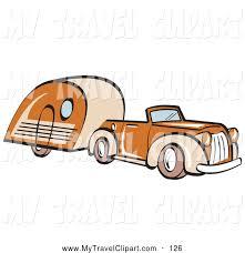 Car Travel Clip Art Vintage