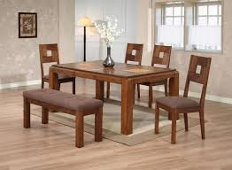 Wooden Dining Table Chairs Entrancing Idea Cool Solid Wood Room