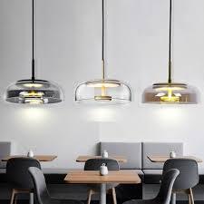 großhandel moderne led kronleuchter beleuchtung wohnzimmer esszimmer bar nordic moderne leuchter deckenleuchte glas luster wyiyi 66 77 auf