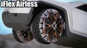 100 Airless Tires For Trucks IFlex On Celebrity Vehicles YouTube