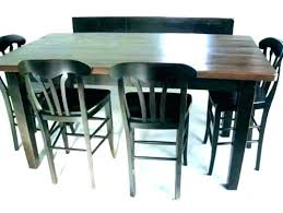 Bar Style Dining Room Tables Pub Table Kitchen Large