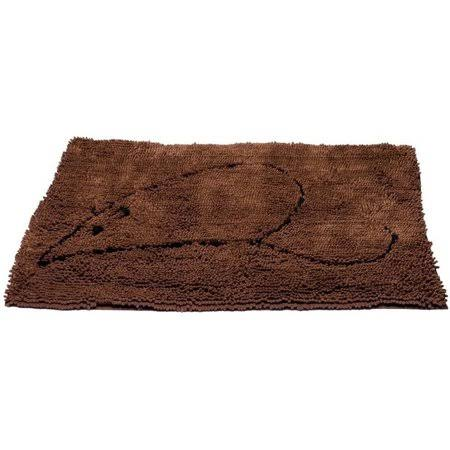 "Dog Gone Smart Cat Litter Mat - 35"" x 26"", Brown"