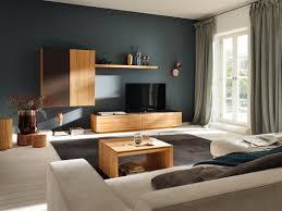 wandfarbe petrol couchtisch teppich wohnzimmer h