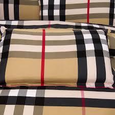 housse de couette burberry vente chaude draps linge de lit 3 4 pcs ensemble de lit literie housse de couette jpg