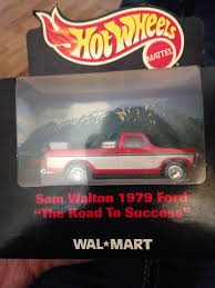 100 Sam Walton Truck 1979 Ford Pickup Toy Car Die Cast And Hot Wheels