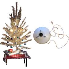 Evergleam 6 Aluminum Christmas Tree by Holly Time Tree Turner Revolving Aluminum Christmas Tree Stand