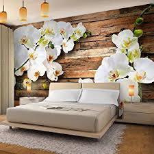 farben tapeten zubehör vlies fototapete blumen magnolien