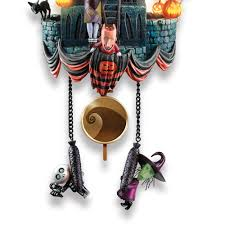 Nightmare Before Christmas Bathroom Set by The Nightmare Before Christmas Cuckoo Clock Hammacher Schlemmer