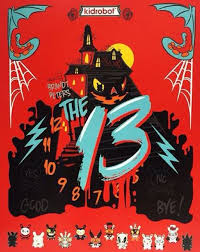 THE 13 Coloring Book Now Available