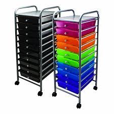 Desk Drawer Organizer Amazon by Amazon Com Advantus 10 Drawer Rolling File Organizer Cart 37 6