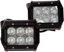 100 Lights For Trucks Amazoncom ANNT 2PCS Waterproof 18W LED Work Light 1800lm