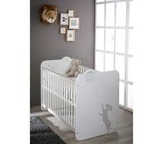 but chambre bébé lit bébé 60 x 120 cm blanc lits but