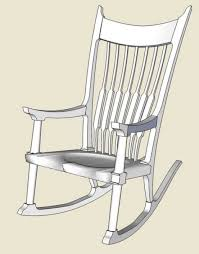 Maloof Rocker - Roughing Into SketchUp - FineWoodworking Building A Sam Maloof Style Rocking Chair Foficahotop Page 93 Unique Outdoor Rocking Chairs High Back Chairs 51 For Sale On 1stdibs Childs Rocker Seatting Chair Maloof Style By Bkap Lumberjockscom Hal Double Outdoor Taylor Inspired Licious Grain Matched Black Walnut Making Inspired Fewoodworking Plans Mcpediainfo
