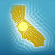 FileCalifornia Outline With Sun Symbol