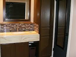 bathroom beautify horizontal glass tile backsplash vertical ideas