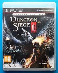 dungeon siege 3 free dungeon siege iii 3 limited edition ps3 playstation 3 free 1st