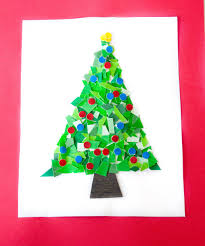 What Kind Of Trees Are Christmas Trees by Paint Chip Christmas Trees