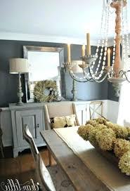 Dining Room Buffet Decor Farmhouse Design