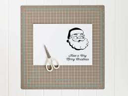 Printable Santa Christmas Card Template